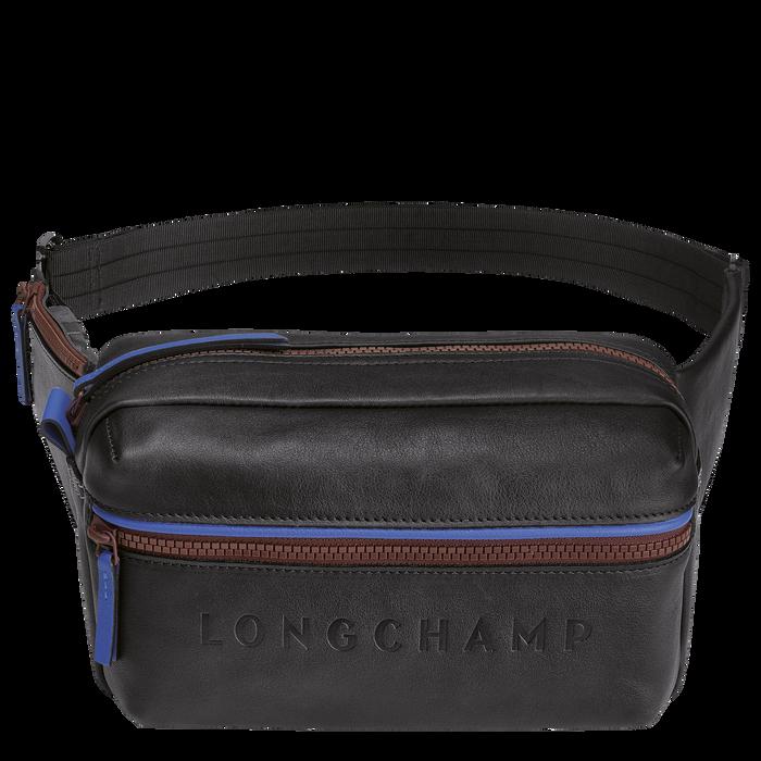 Longchamp 3D 腰包, 黑色