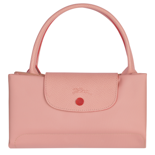 Le Pliage Club 手提包中号, 粉红色