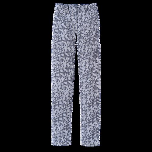 Collection Printemps/Été 2021 牛仔褲, 藍色