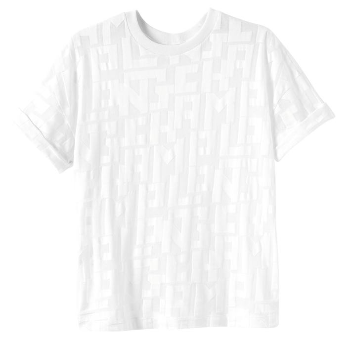 2021 年春夏系列 T 恤, 白色
