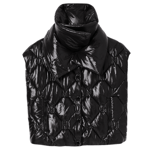 Collection Printemps/Été 2021 羽絨短身外套, 黑色