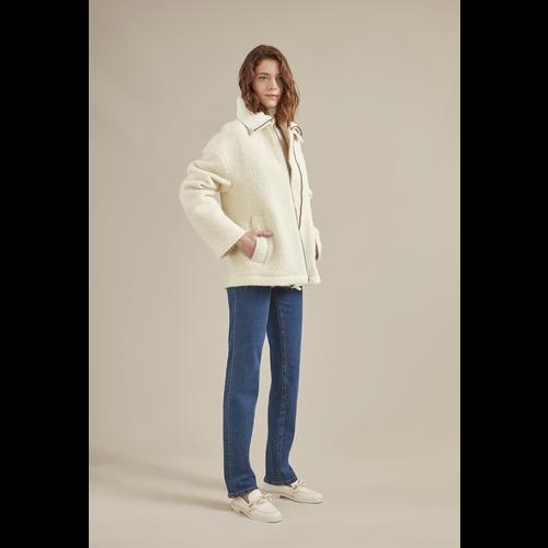 2021 秋冬系列 女士衬衫, 象牙色