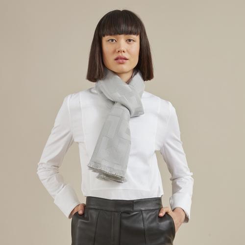 2021 年春夏系列 真丝围巾, 鼠尾草灰色