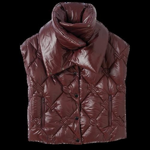 Collection Printemps/Été 2021 羽絨短身外套, 赤褐色