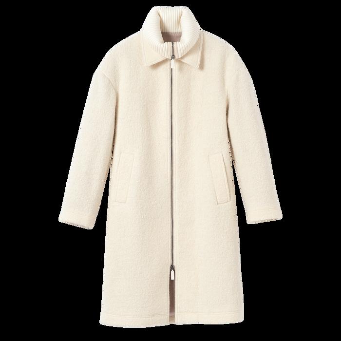 2021 秋冬系列 外套, 象牙色