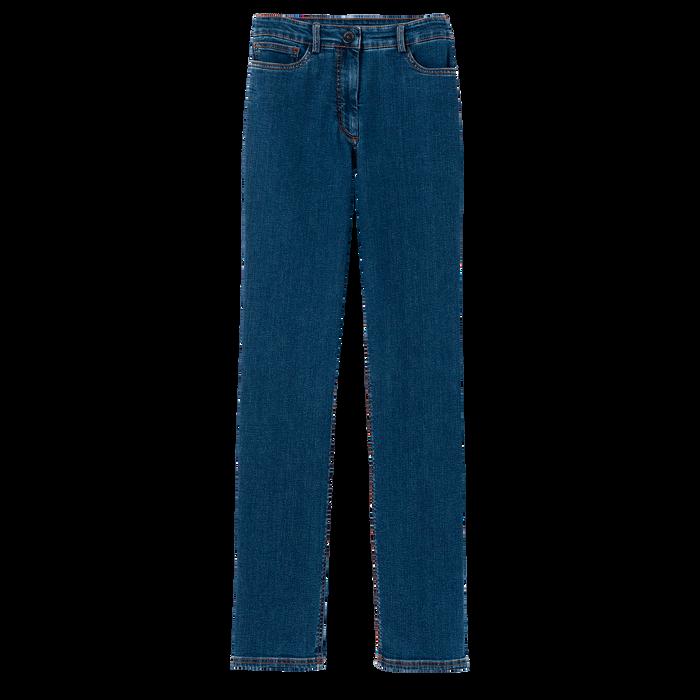 2021 秋冬系列 長褲, 丹寧藍色