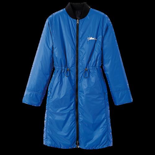 2021 春夏系列 雙面穿大衣, 黑色/藍色