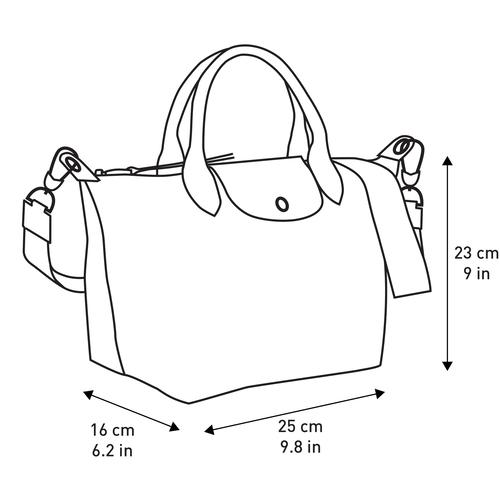 手提包, 黑/白色, hi-res - 查看4 4