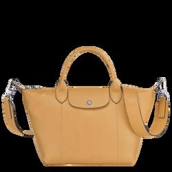 Top handle bag S, Honey
