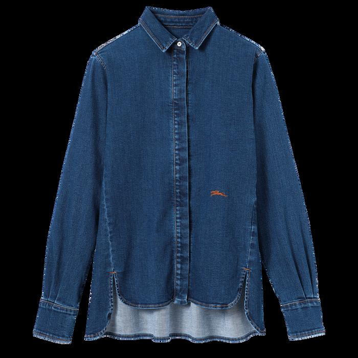 2021 秋冬系列 衬衫, 牛仔色