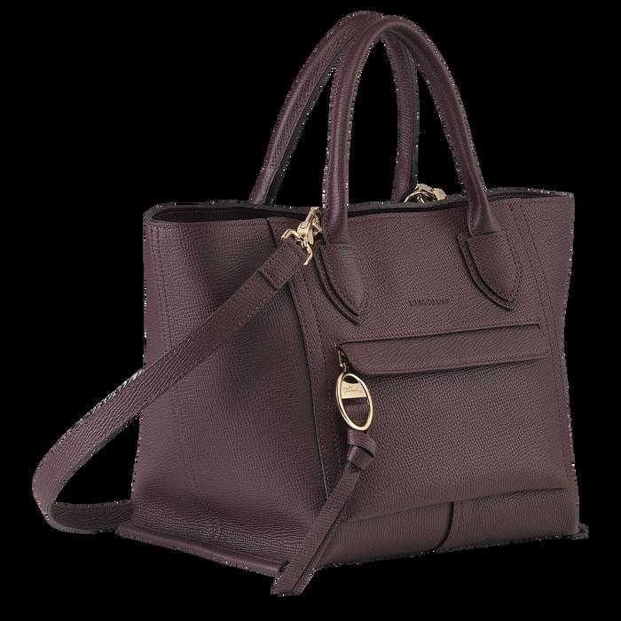 手提包中号, 茄紫色 - 查看 2 4 - 放大