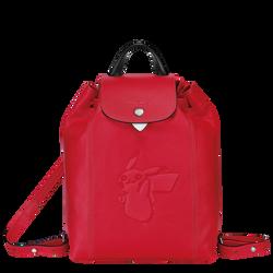 双肩背包, 红色