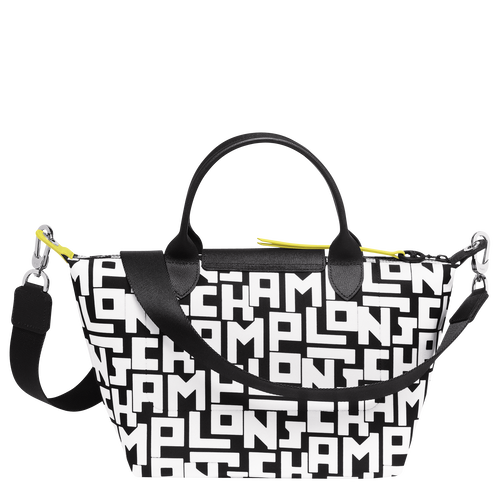 手提包, 黑/白色, hi-res - 查看3 4