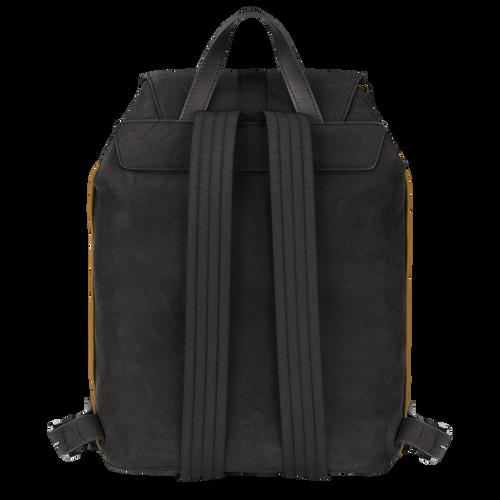 Longchamp 3D 双肩背包中号, 金属灰