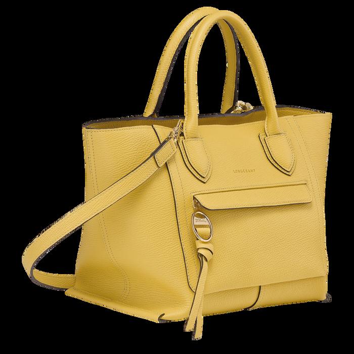 手提包中号, 黄色 - 查看 2 3 - 放大