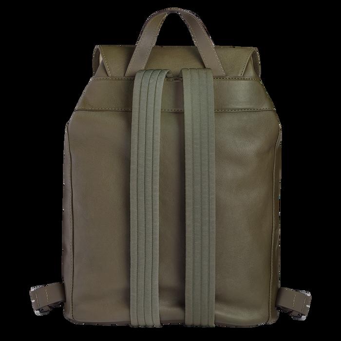 Longchamp 3D 双肩背包中号, 卡其色