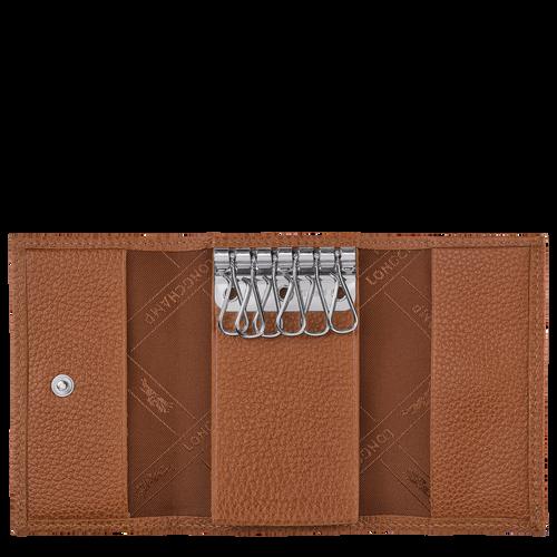 Le Foulonné 系列 钥匙包, 淡红褐色