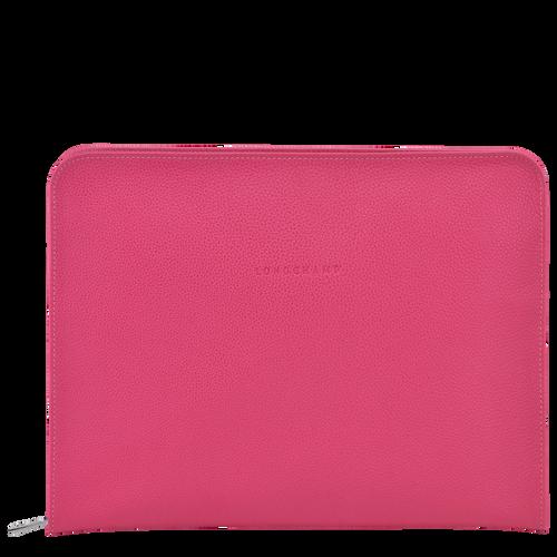 Le Foulonné系列 13 英寸笔记本电脑包, Pink/Silver