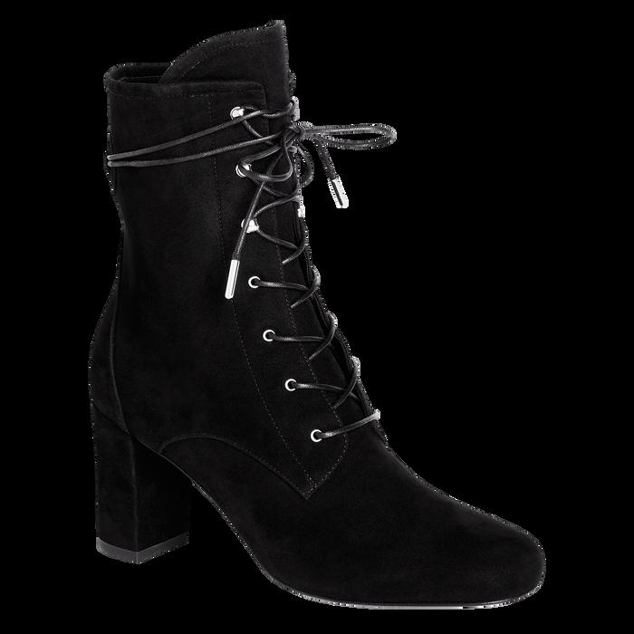 踝靴, 黑色, hi-res - 查看4 4