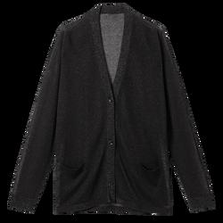 針織鈕釦外套