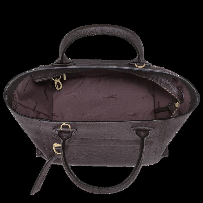 手提包中号, 茄紫色 - 查看 4 4 - 放大