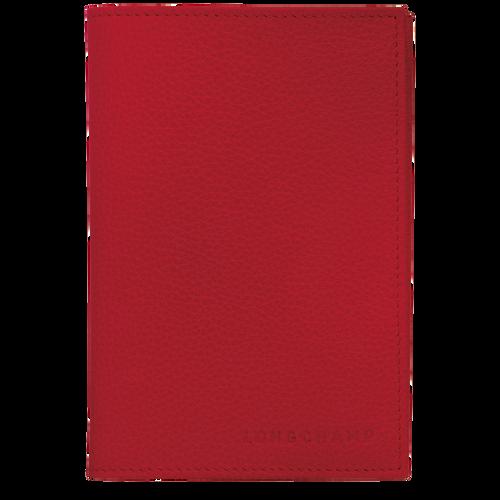 Le Foulonné 系列 护照套, 红色