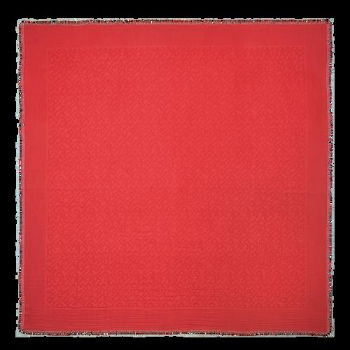 2021 年春夏系列 女士披肩, 唇红色