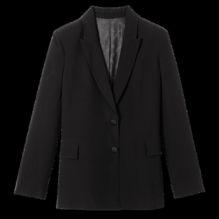 Collection Printemps/Été 2021 短身外套, 黑色