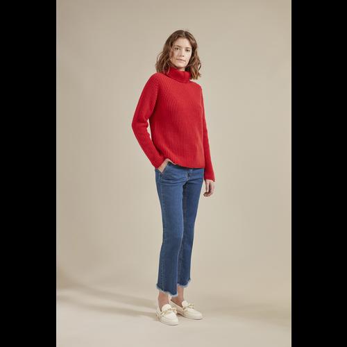 Collection Printemps/Été 2021 套衫, 紅色