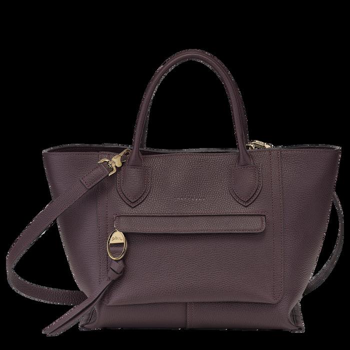 手提包中号, 茄紫色 - 查看 1 4 - 放大