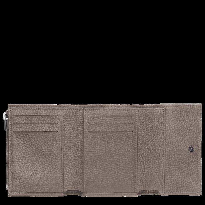 Roseau 紧凑型钱包, 灰色