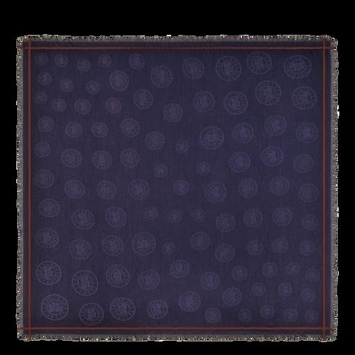 2021 秋冬系列 女士披肩, 浆果紫