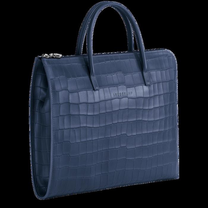 Croco Block 公事包 S, 海軍藍色