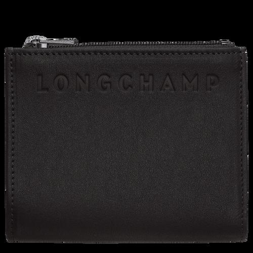 紧凑型钱包, 黑色/乌木色 - 查看 1 2 -