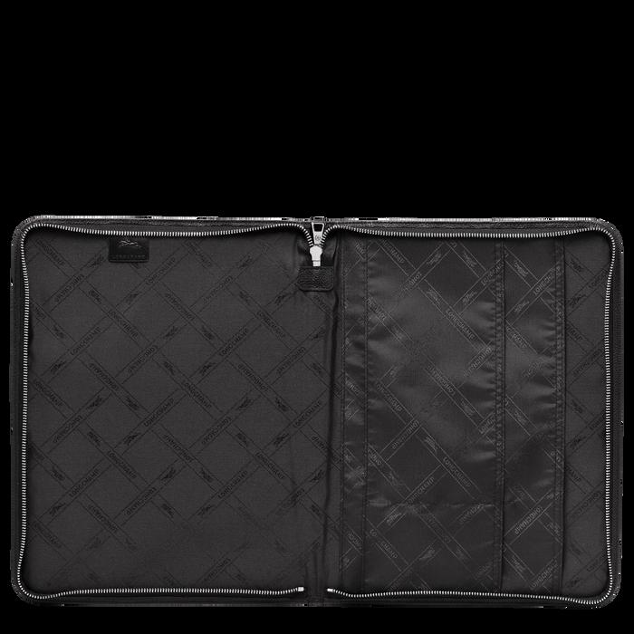 Le Foulonné系列 13 英寸笔记本电脑包, 黑色