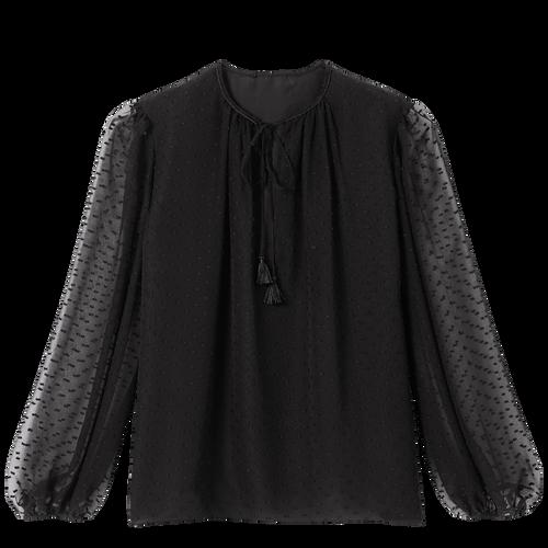 2021 春夏系列 女襯衫, 黑色