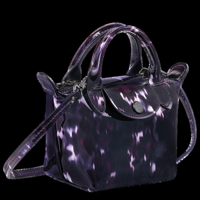 Le Pliage Cuir 手提包, 浆果紫