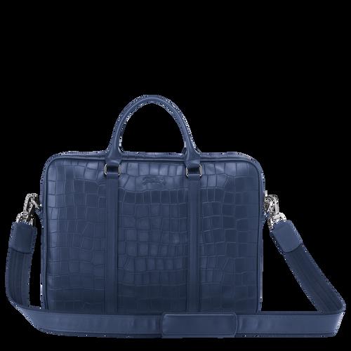 Croco Block 公事包 XS, 海軍藍色