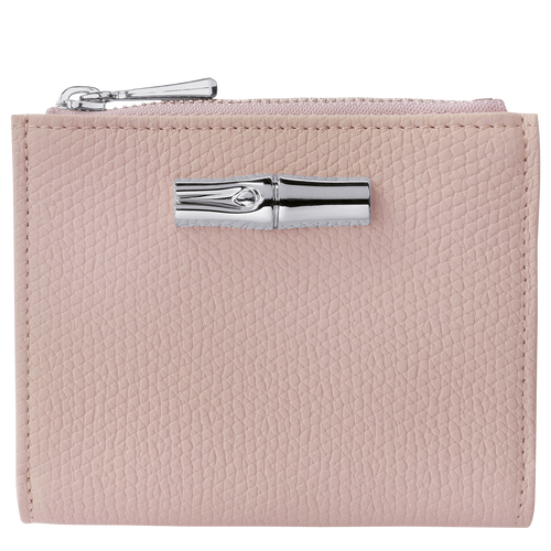 Roseau 紧凑型钱包, 柔粉色