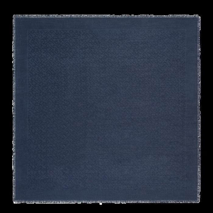 2021 年春夏系列 女士披肩, 海军蓝色
