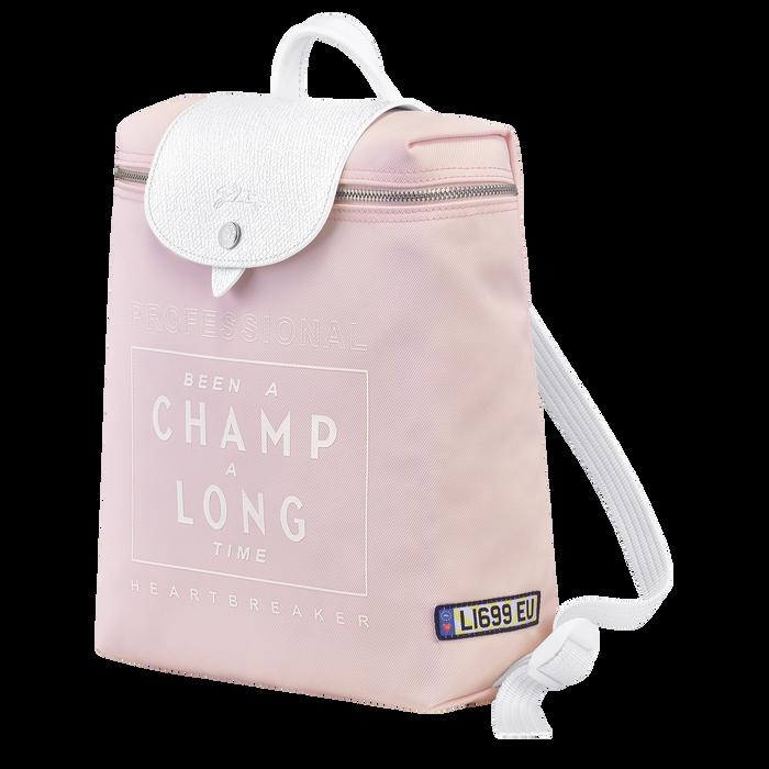 Longchamp x EU 双肩背包, Pink/Silver