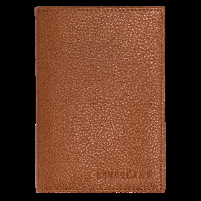 Le Foulonné 系列 护照套, 淡红褐色