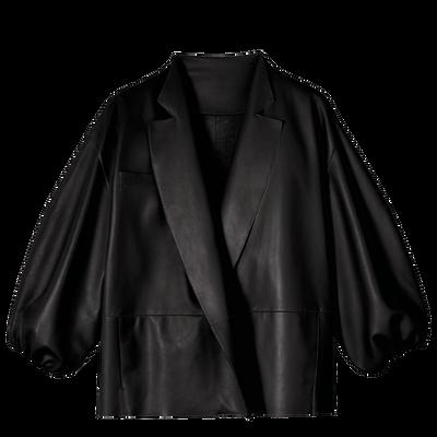 和服式背心, 黑色, hi-res