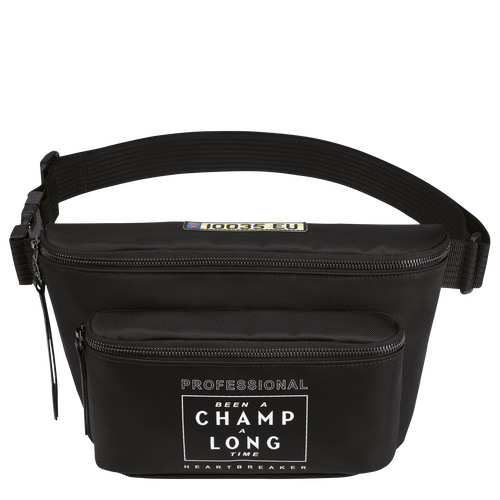 Longchamp x EU 腰包, 黑色