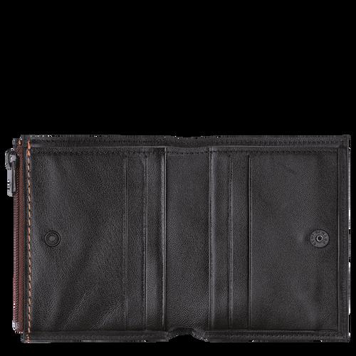 紧凑型钱包, 黑色/乌木色 - 查看 2 2 -