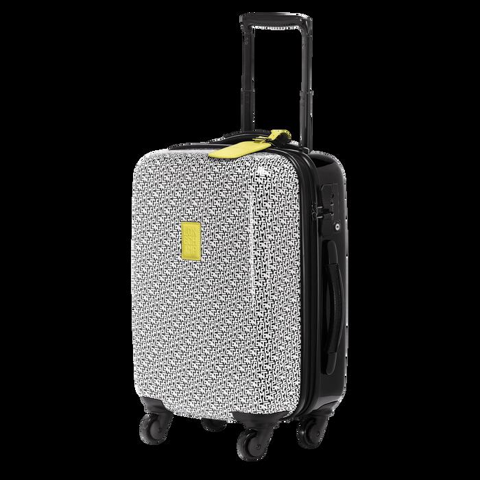 轮式行李袋, 黑/白色, hi-res - 查看2 3