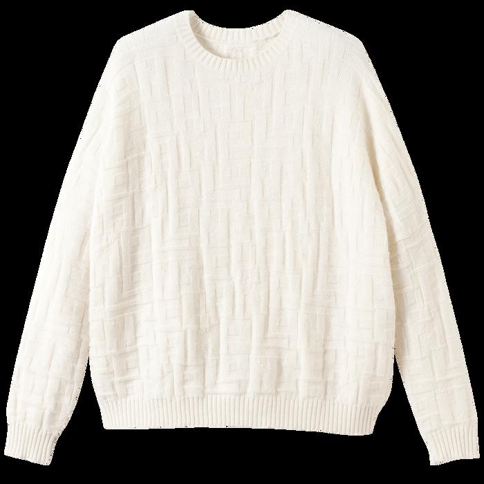 Collection Printemps/Été 2021 套衫, 象牙色