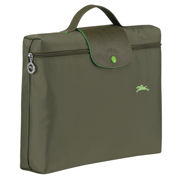 Le Pliage Club 公事包 S, Longchamp Green