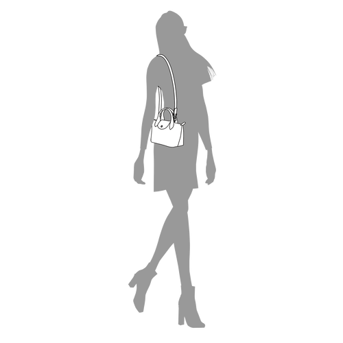 手提包 XS Le Pliage Cuir 土黄色 (L1500757003) | Longchamp CN