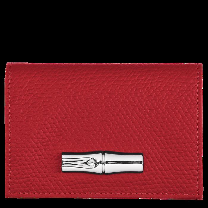 Roseau 紧凑型钱包, 红色
